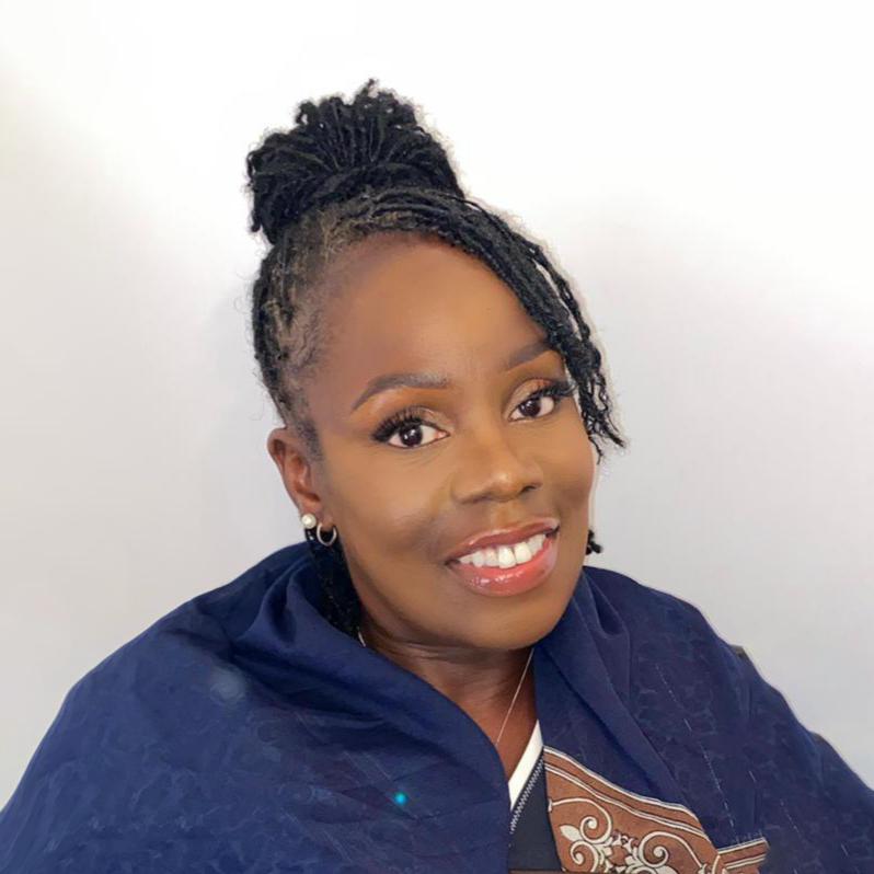Black female executive Jacqueline Adusei